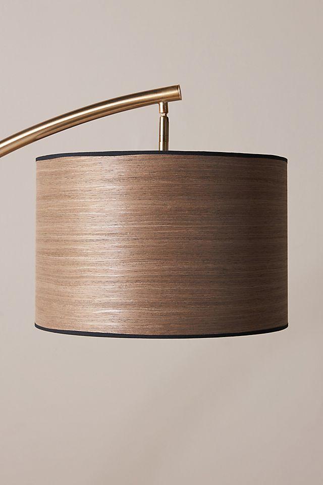 Luna Wood Veneer Lamp Shade $98.00