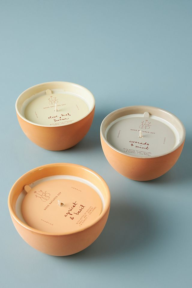 Good Natured Soy Ceramic Candle $24.00