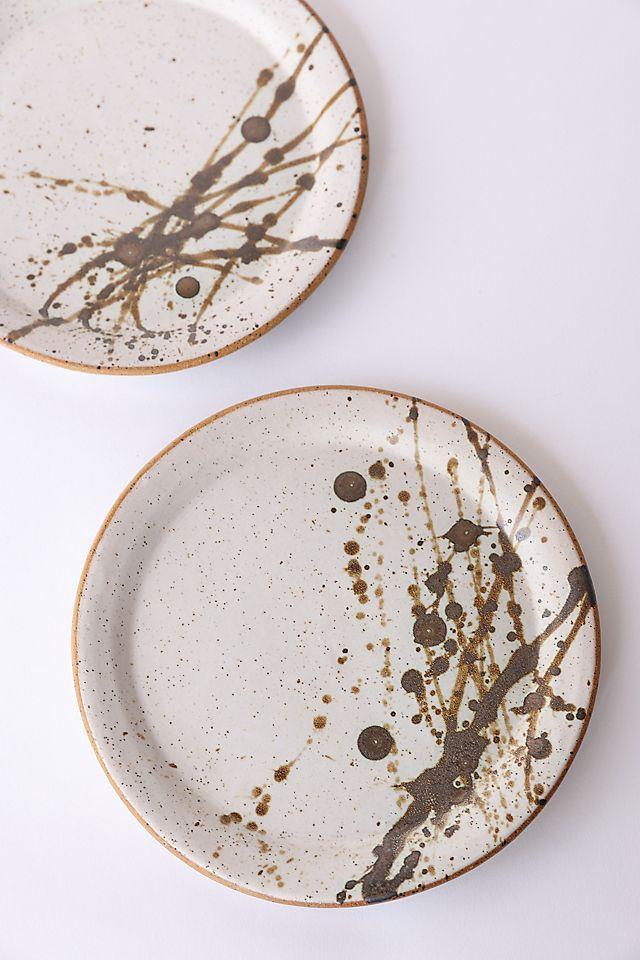 Earth + Element Ceramics Splash Plates $37.00