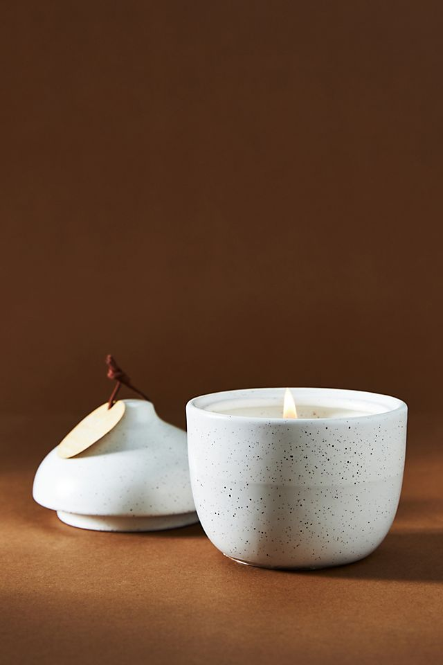 Serenity Lidded Ceramic Candle $24.00