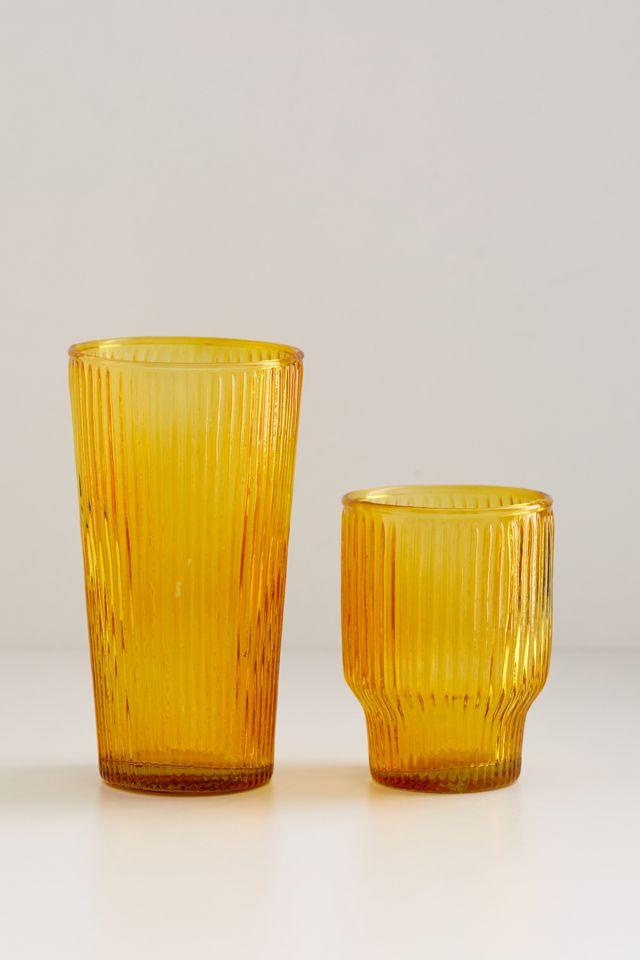 Isabella Ridged Juice Glass $10.00