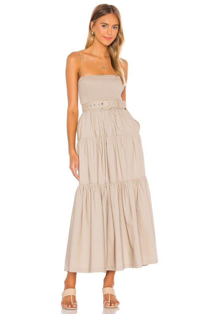 The Nour Midi Dress L\'Academie $258