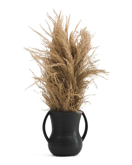 SILKCRAFT OF OREGONPampas In Matte Vase$29.99