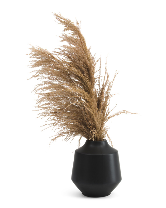 SILKCRAFT OF OREGON Pampas In Beveled Vase $39.99