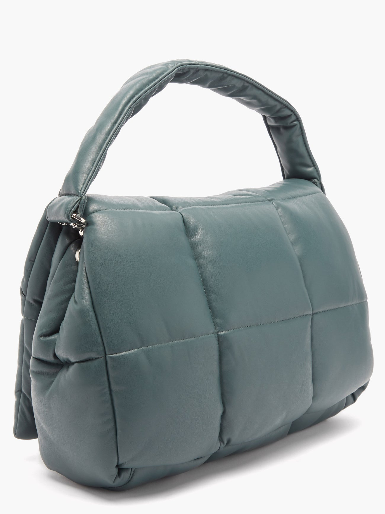 STAND STUDIO Wanda quilted faux-leather shoulder bag $375