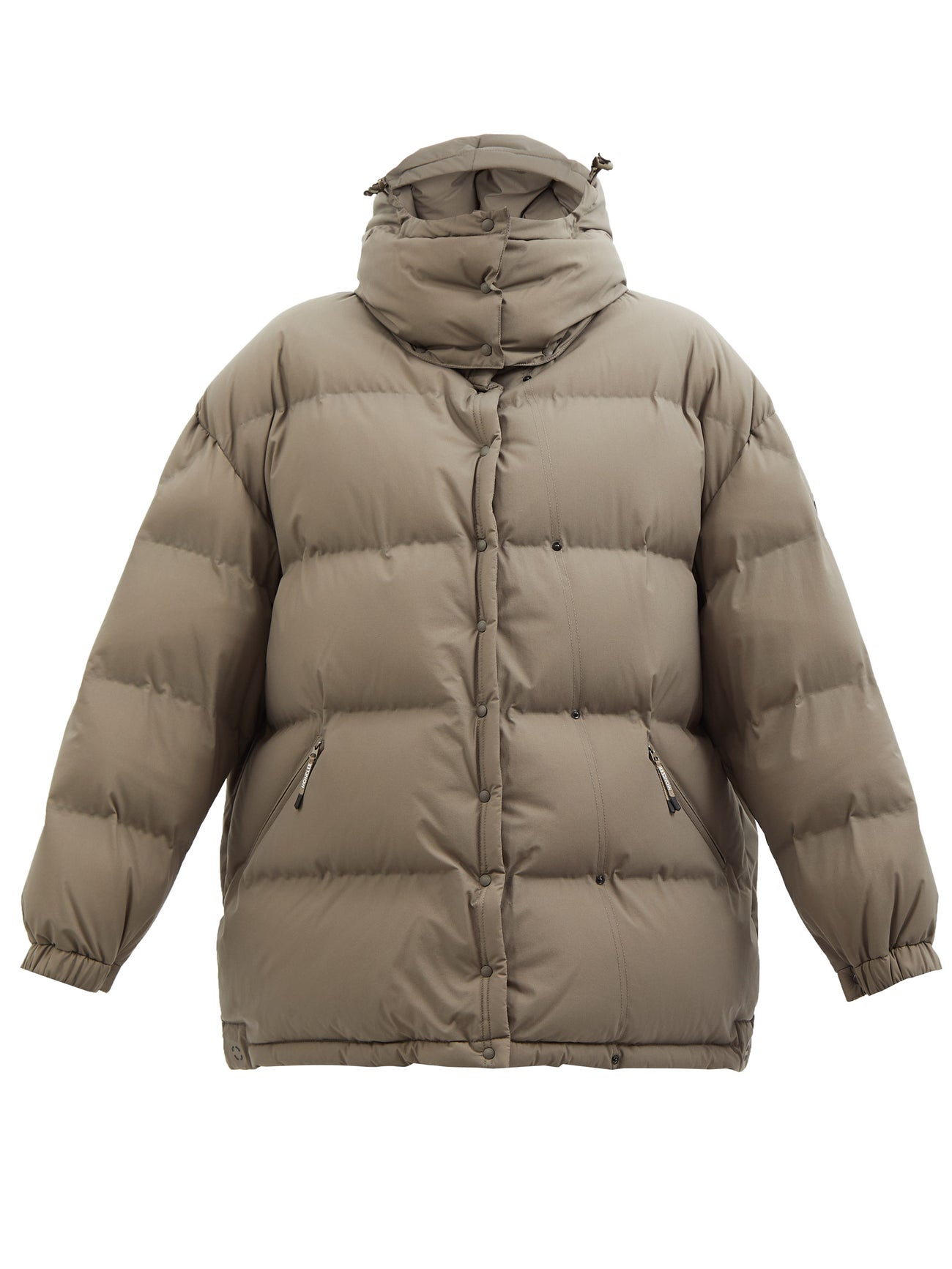 HYKE Altelsis hooded quilted down jacket $1,489