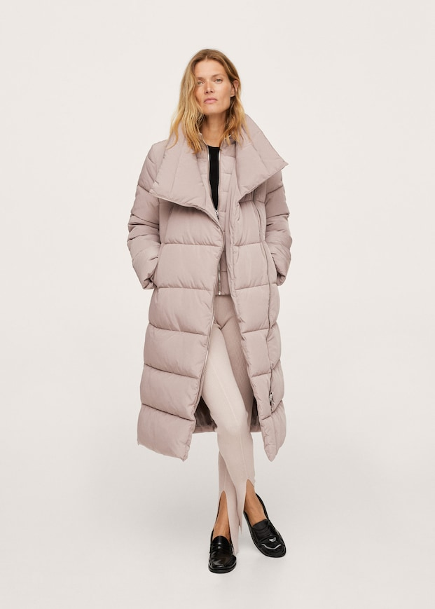 Quilted cross jacket $199.99