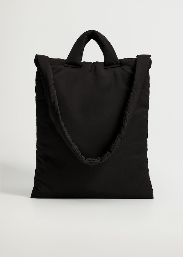 Quilted shopper bag $59.99