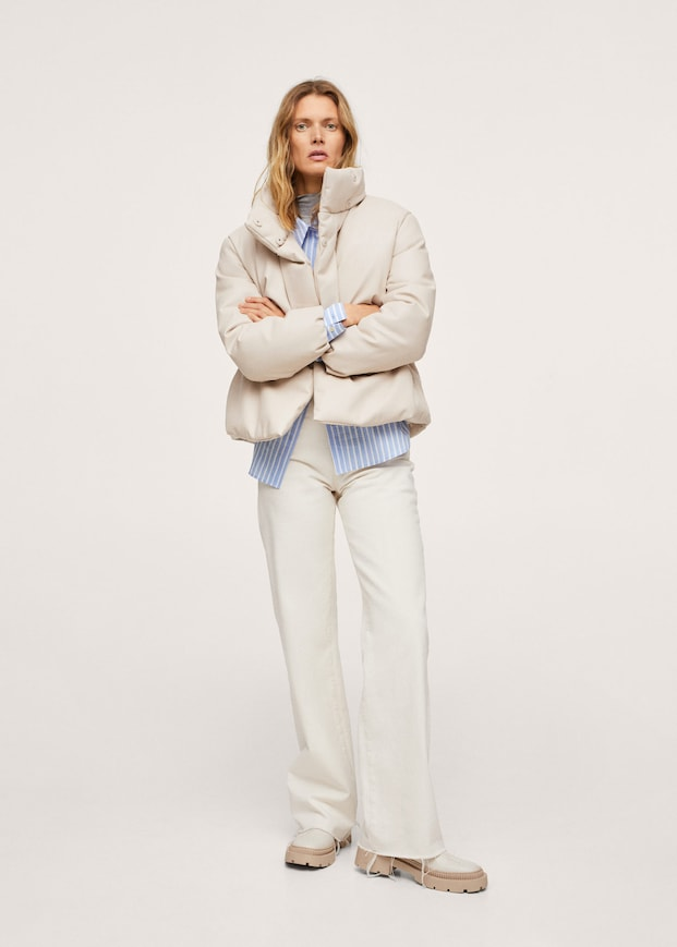 Quilted skin style jacket $129.99