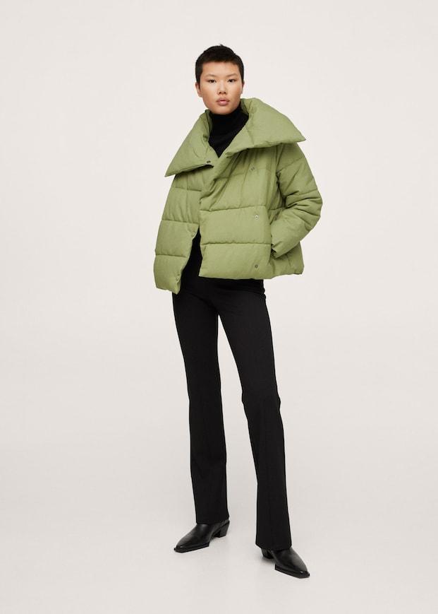 Water-repellent quilted coat $129.99