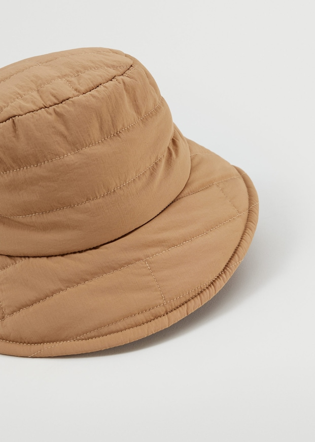 Quilted bucket hat $29.99
