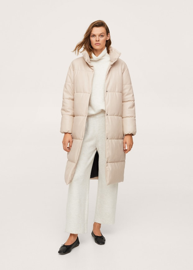 Oversized padded coat $199.99