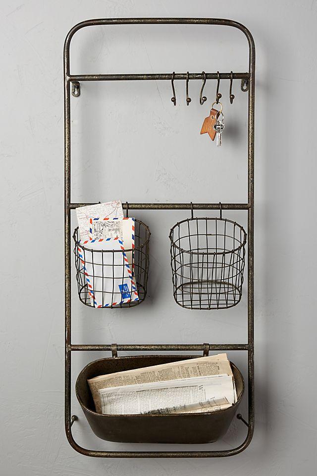 Iron Entryway Shelf Set $98.00