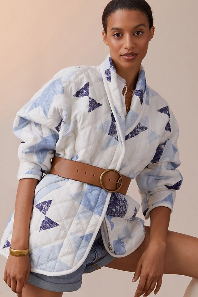 Quilted Patchwork Jacket $160.00