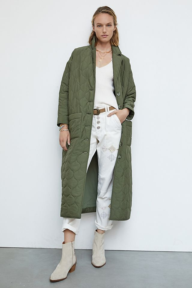 Ginny Quilted Coat $190.00