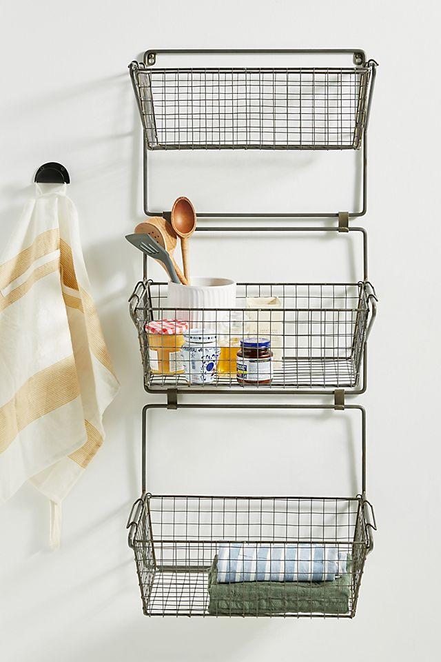 Three-Tier Basket Wall Storage $228.00