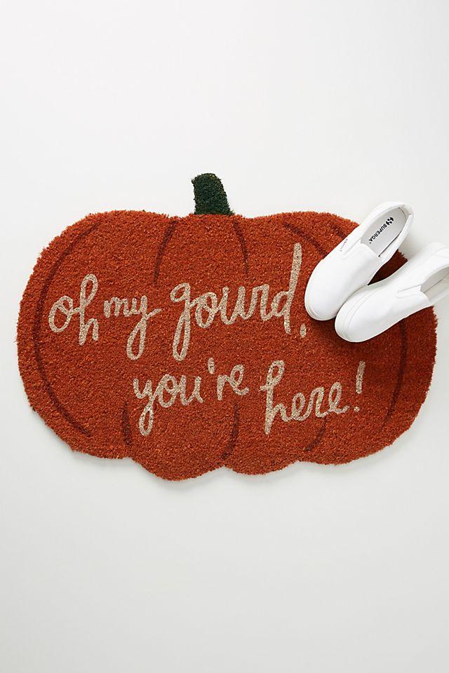 Oh My Gourd Doormat $38.00