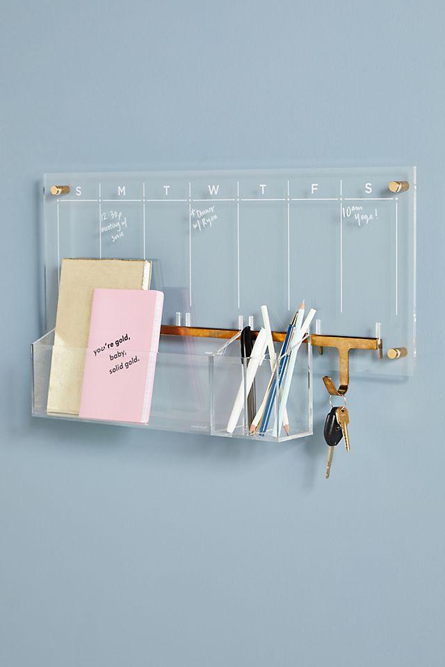 Acrylic Wall Calendar Desk Set $106.00