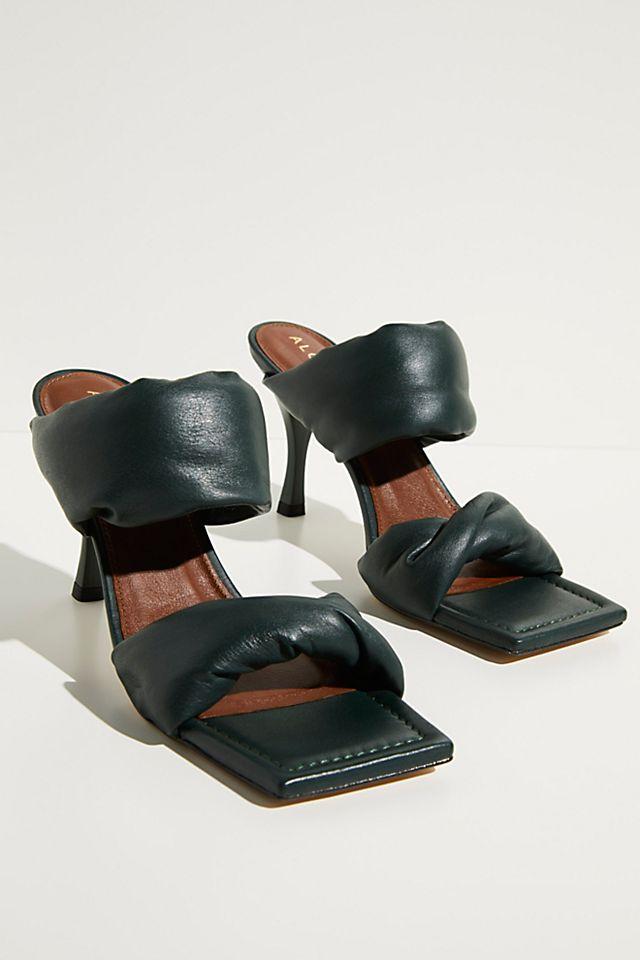 Natasha Puffy Mule Heels $148.00