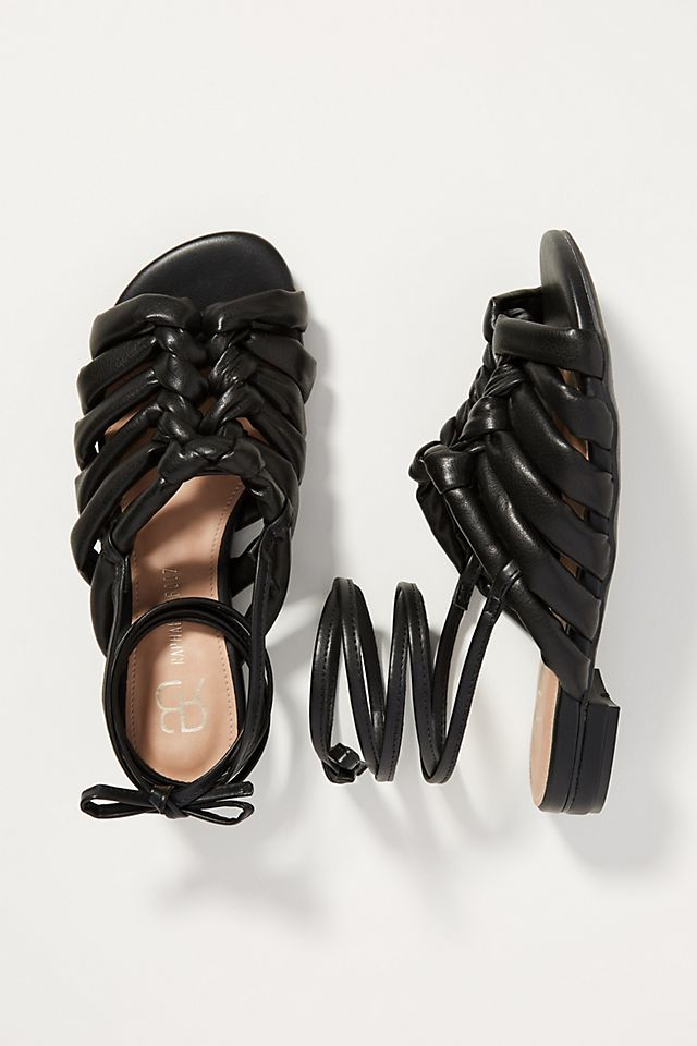 Puffy Gladiator Sandals $69.95