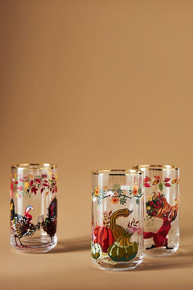 Inslee Fariss Autumn\'s Bounty Glass $12.00
