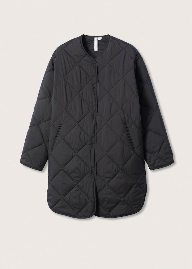 Water-repellent quilted coat $99.99