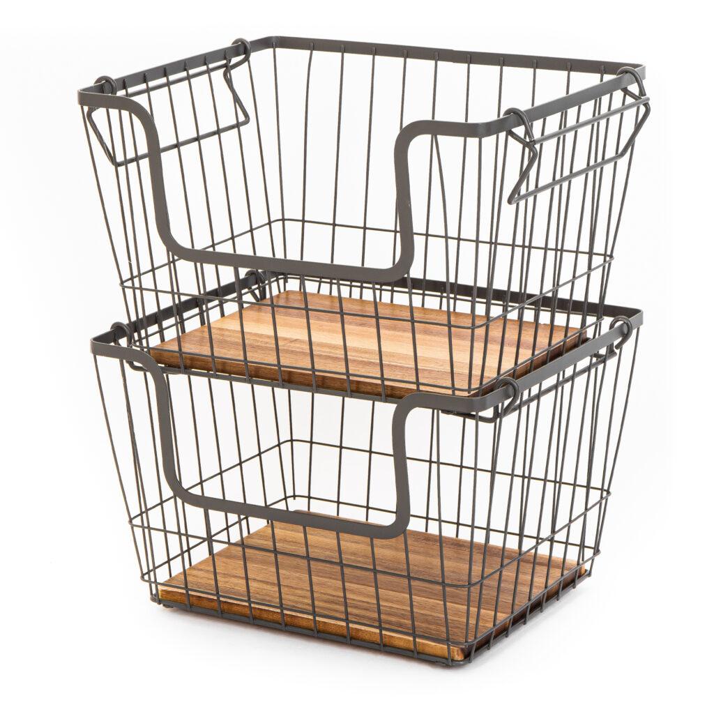 Stacking Basket Large - Kitchen - Pantry $10.44 https://fave.co/397JLLh