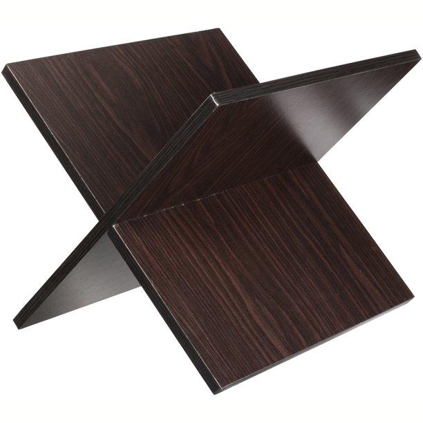 Cube Storage Shelf X, Espresso $12.98