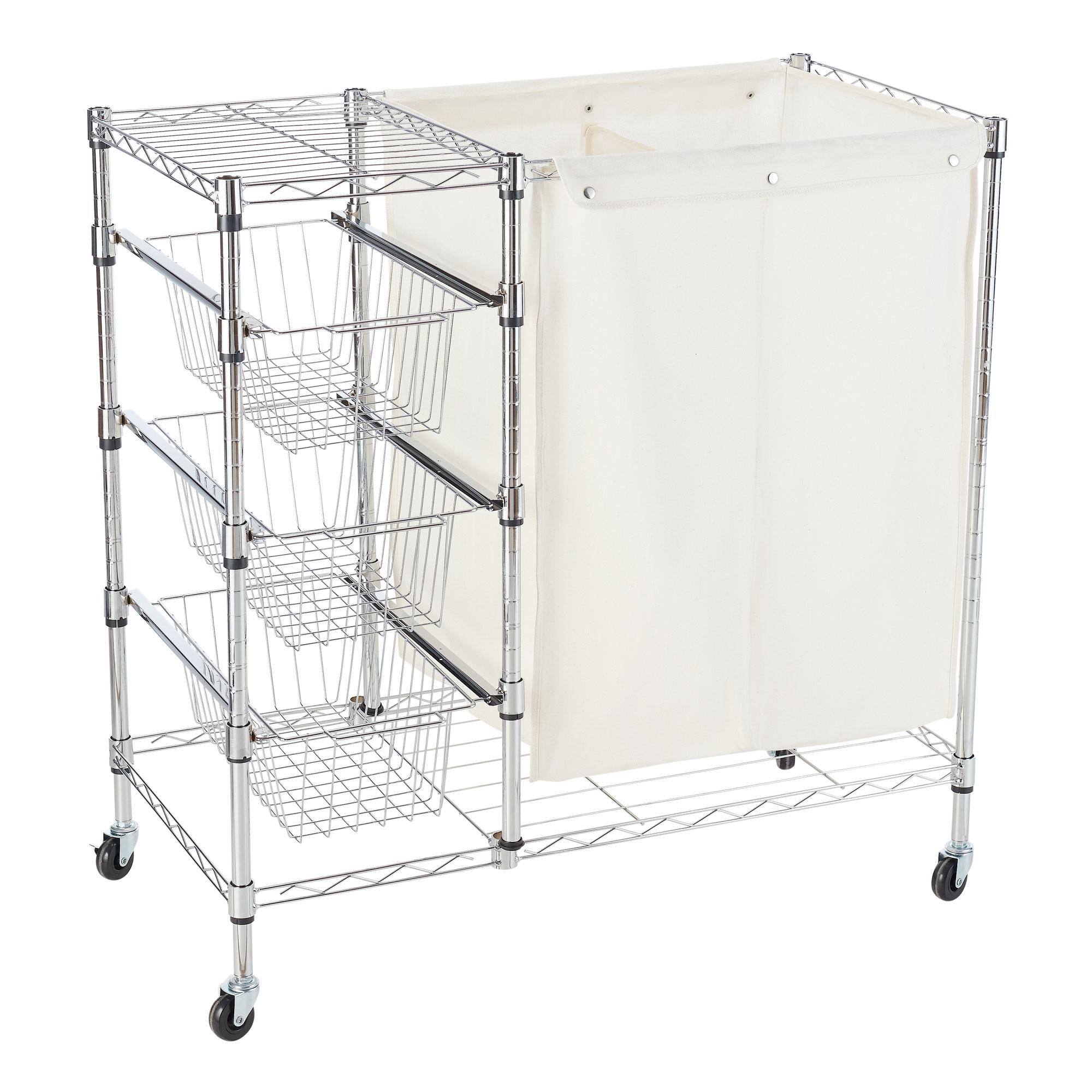 """Hamper & Storage Cart, 18\"""" x 35\"""" $49.88"""