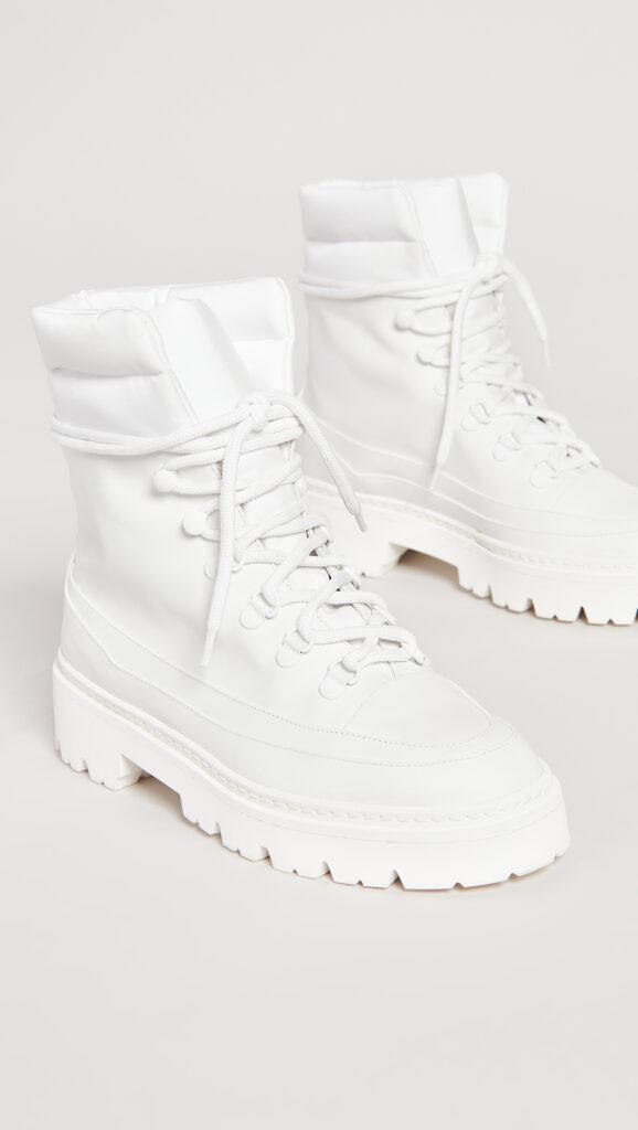 Gia Borghini Terra Puffy Top Hiking Boots $595.00