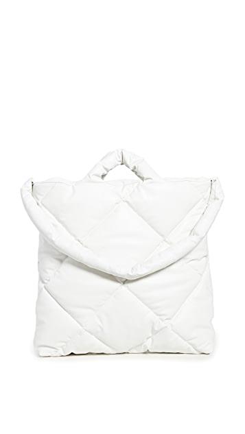 KASSL Medium Oil Quilted Bag $390.00