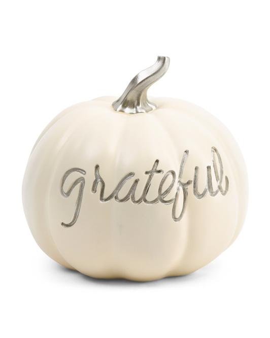HARVEST MOON 11in Grateful Pumpkin $19.99