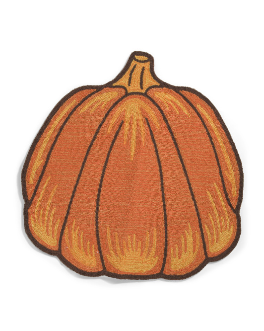 LOLOI 27x45 Hand Knotted Pumpkin Shaped Scatter Rug $24.99