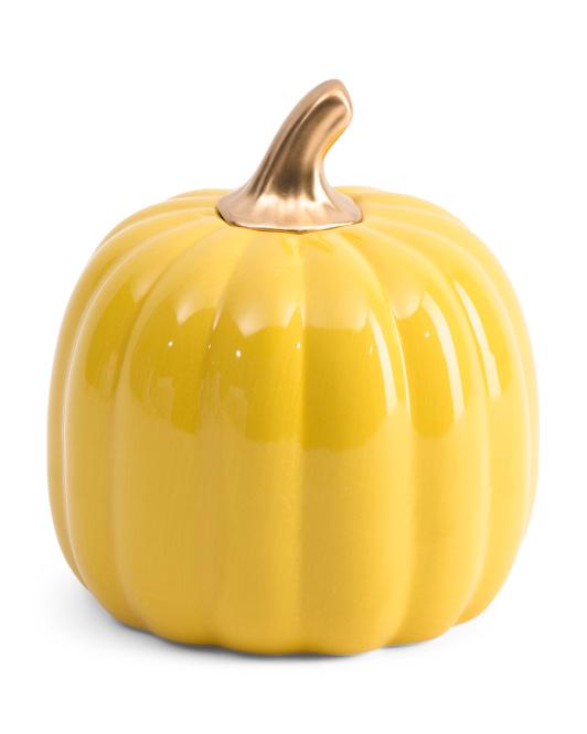 HALLOWS EVE Ceramic Pumpkin $7.99
