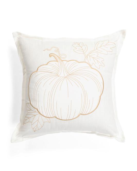 LILLIAN AUGUST HOME 20x20 Pumpkin Pillow $19.99