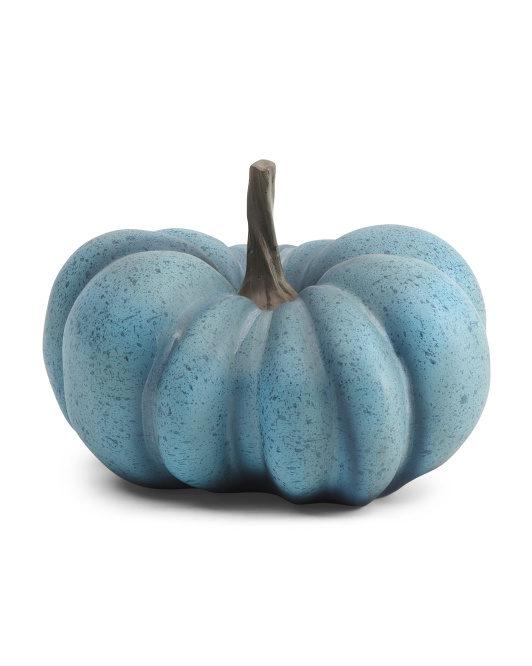 HARVEST MOON 9in Resin Funky Pumpkin $12.99