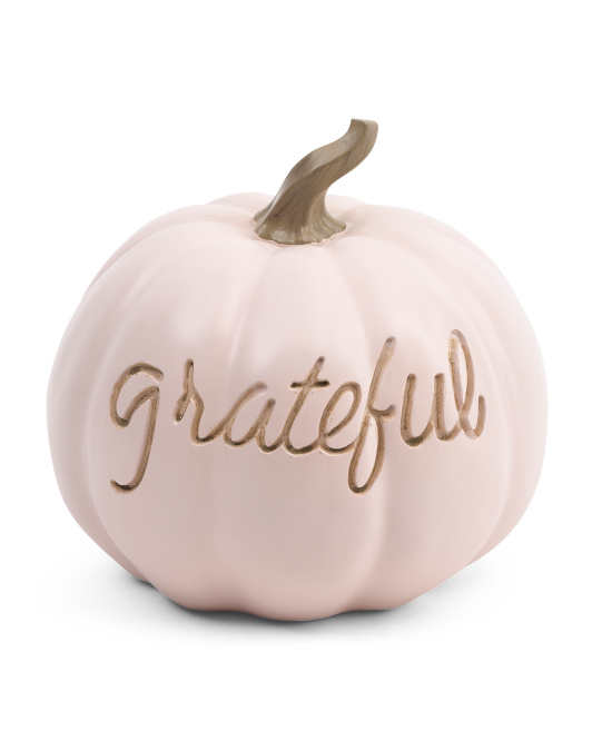 11in Grateful Pumpkin $19.99